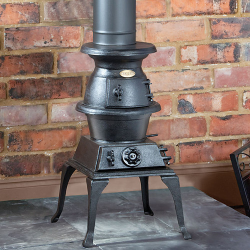 Clarke Pot Belly Cast Iron Stove 10 000 Btu 3kw Ebay